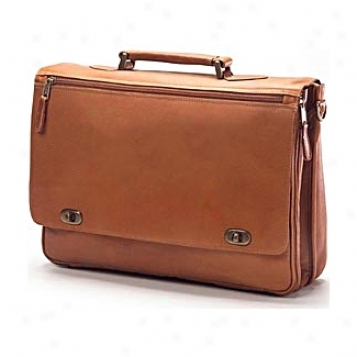 Clava Leather Bags Turnlock Brief