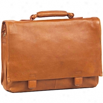 Clava Leather Bags Tuscan Flap Briefcase