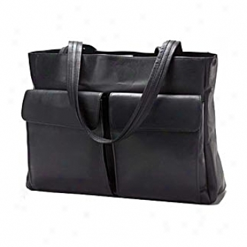 Clava Leather Bag sTwo Pocket Tote