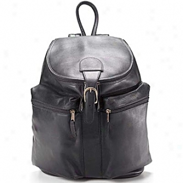 Clava Leather Bags Zip Top Bacckpack