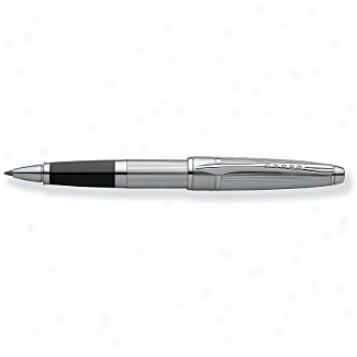 Cross Pen Collection Apogee Chrome Selectip Rolling Ball Pen