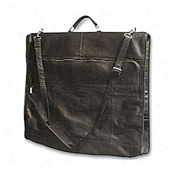 David King Leather Luggage 42in. Garment Bag