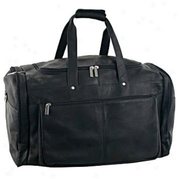 David King Leather Luggage Carry On Duffel