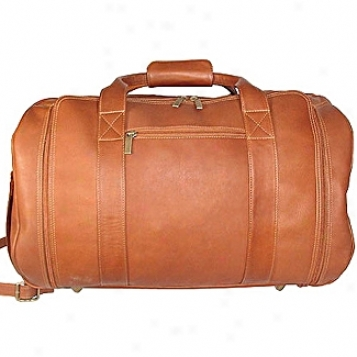 David King Leather Luggage Carry-on Tote