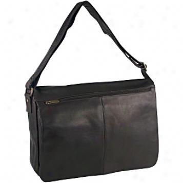 David Sovereign Leather Luggage East/wezt Full Flap Harbinger Sack