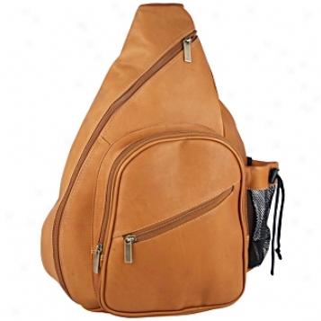 David King Leather Luggage Monostrap Leath3r Backpack