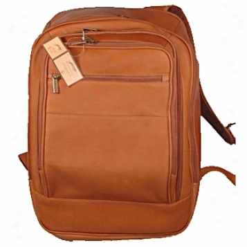 David King Leather Luggage Overized Laptop Backpack