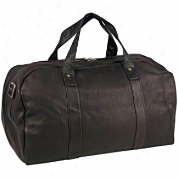 David King Leather Luggage Polo Duffel Bag