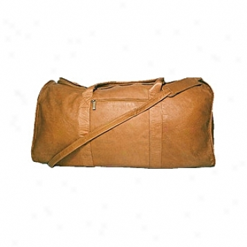 David Sovereign Leather Luggage Simple Duffel
