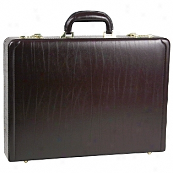 Goodhope Business Briefcase Collection 3.5in. Leather Attache