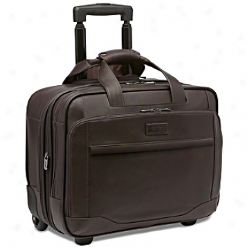 Hartmann Aviator Collection Large Wheeled Expandable Computer Brief