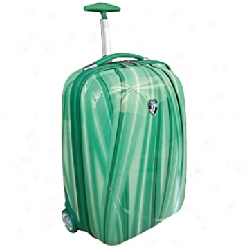 Heys Usa Lightweight Baggage And Business Cases Xcase Exotic Green Flow 20in. Wheeled Carry On