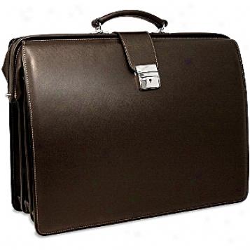 Jack Georges Prestige Classic Briefbag W/shoulder Strap