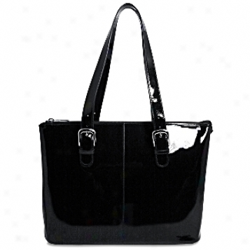 Jack Georges The Patent Collection Madison Laptop Tote