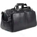 Johnston And Mur0hy Leaather Travel Collection Cabin Duffle