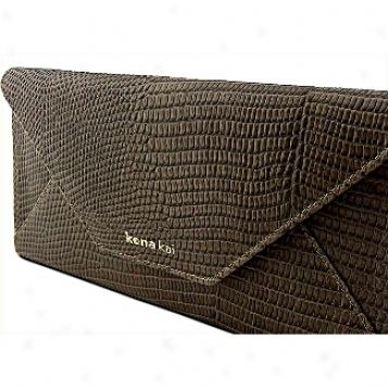 Kena Kai Datasafe? Series Lizard Embossed Travel Wallet