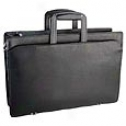 Korchmar Classic Collection Top Zip Briefcase