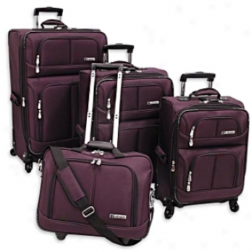 Leisure Luggage Sets      Lightweight 360? 4-piece Set