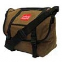 Manhattan Portage Urban Bags Waxed Canvas Messenger Bag Mean