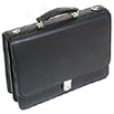 Mcklein Usa I Series Leather Double Compartment Briefcase