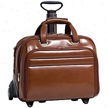Mcklein Usa R Series Fly-through Checkpoint-friendly 17in. Detachable-wheeled Laptop Case