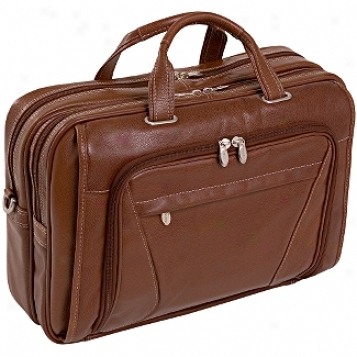 Mcklein Usa S Series Irving Park Double Compartment Laptop Case