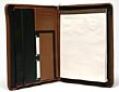 Millennium Business Collection  Zip Around Writing Pad Portfolio
