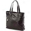 Mobile Edge Woomen's Collection Faux Croc Ultra Tote