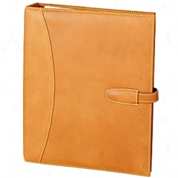 Mulholland Brothers Altogether Leather  3 Ring Binder