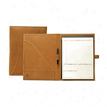 Mulholland Brothes All Leatuer  Large Jotter