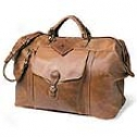 Mulholland Brothers All Leather  Longhorn Weekend Bag