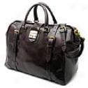 Mulholland Brothers All Leather  Safari Bag
