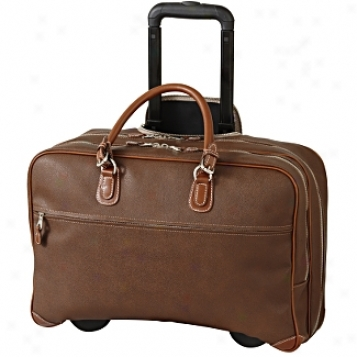 Mulholland Brothers Endurance Rolling Laptop Brief