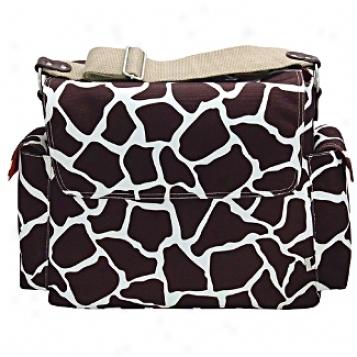 Oioi Sophisticated Baby Bags Giraffe Print Harbinger