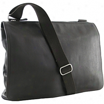Osgoode Marley Leather Collection  Flat Euro Messenger