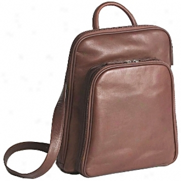 Osgoode Marley Leather Collection  Large Organizer Backpack
