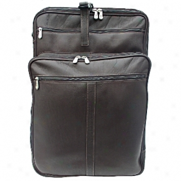 Piel Leather  Goods     22in. Wheeler W/ Top Pocket And Laptop Compartmen5