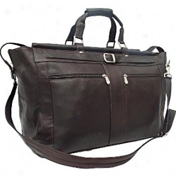 Piel Leather  Goods     Carpet Bag W/pockets