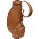 Piel Leathed  Goods     Deluxe 9in. Leather Golf Bag