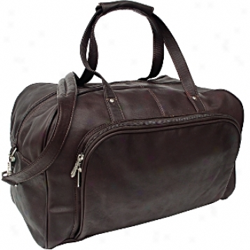 Piel Leather  Goods     Deluxe Carry On Duffel
