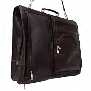 Piel Leather  Goods     Executive Expandable Garment Sack
