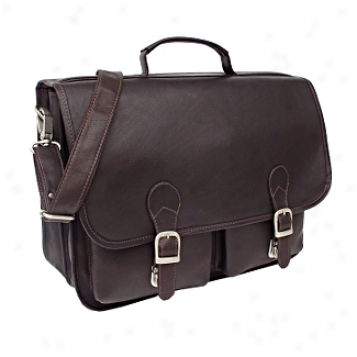 Piel Leather  Goods     Executi\/e Two Pocket Portfolio