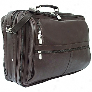 Piel Leather  Goods     Extra Large Executive Overnighter