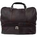Piel Leather  Goods     False-bottom Sports Bag