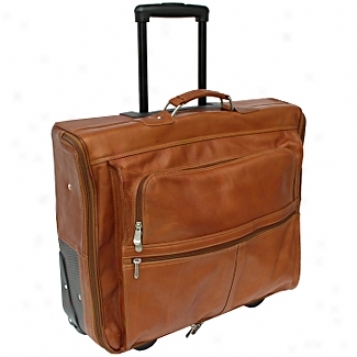 Piel Leather  Commodities     Garment Bag On Wheels