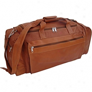 Piel Leather  Goods     Large Duffel Bag