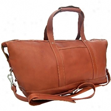 Piel Leather  Goods     Means Carry On Satchel