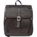 Piel Leather  Goods     Slim Computer Backpack