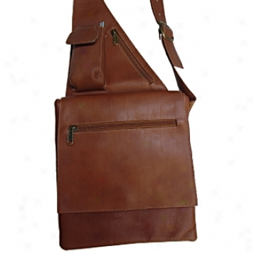 Piel Leather  Goods     Slim Line Ladies Bag