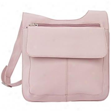 Poel Leather  Goods     Slim Line Mail Bag